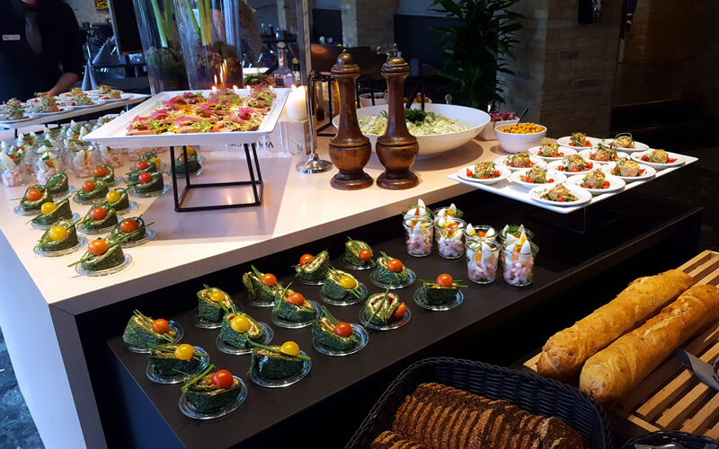 Frokost på Best Western Plus Hotel Fredericia