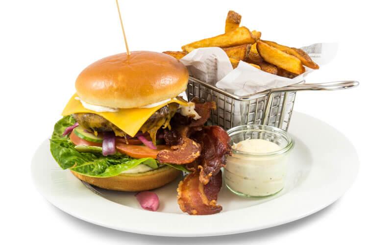 A la carte burgermenu