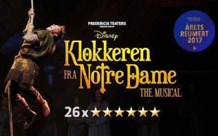 Klokkeren fra Notre Dame Musical plakat