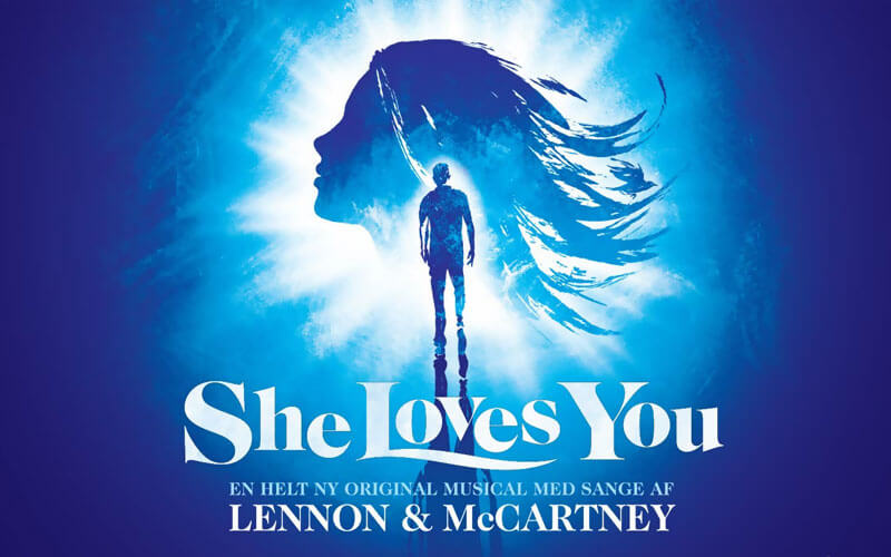 She Loves You Musical plakat