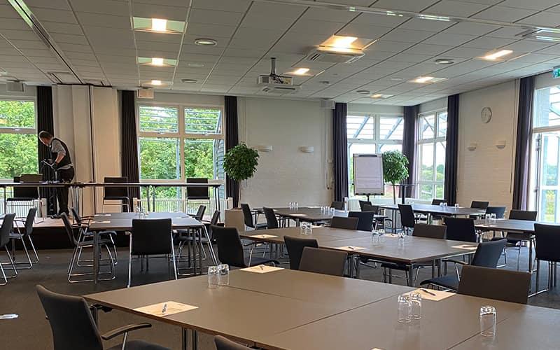 moedelokale og konferencerum på Hotel Fredericia